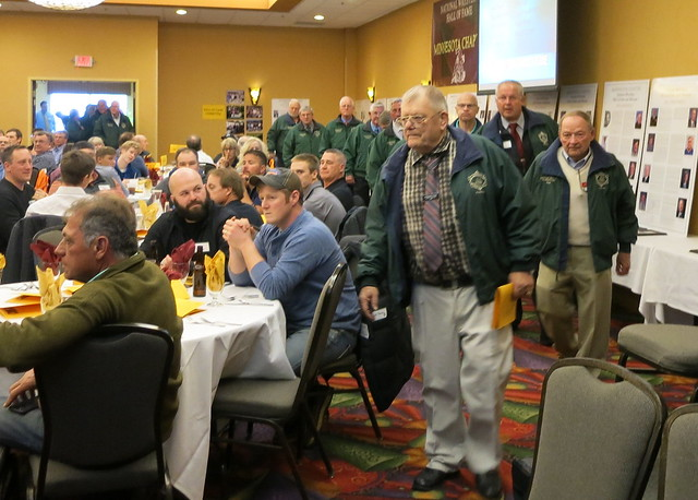 2019 National Wrestling Hall of Fame, Minnesota Chapter Parade of Green Jackets. 190427AJF0827