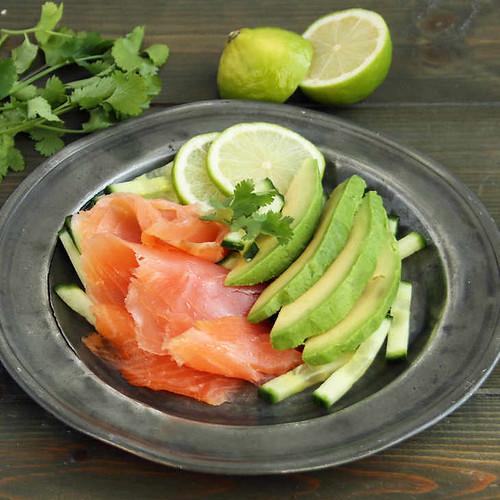 Keto Deconstructed Smoked Salmon Ceviche Recipe