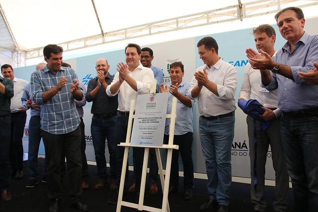 11.04.2019 Inauguração de Obras da SANEPAR