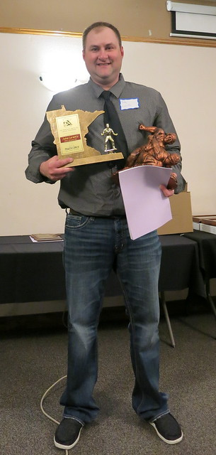 MWCA Overall State Coach of the Year - Jake Lorentz of LPGE/Browerville. 190504AJF0852