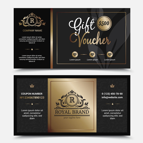 Gift Voucher Royal Brand Template