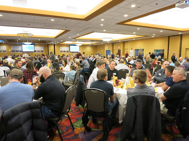 2019 National Wrestling Hall of Fame, Minnesota Chapter Banquet at the Austin Holiday Inn Conference Center. 190427AJF0823