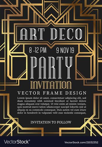 Art Deco-Advertisement