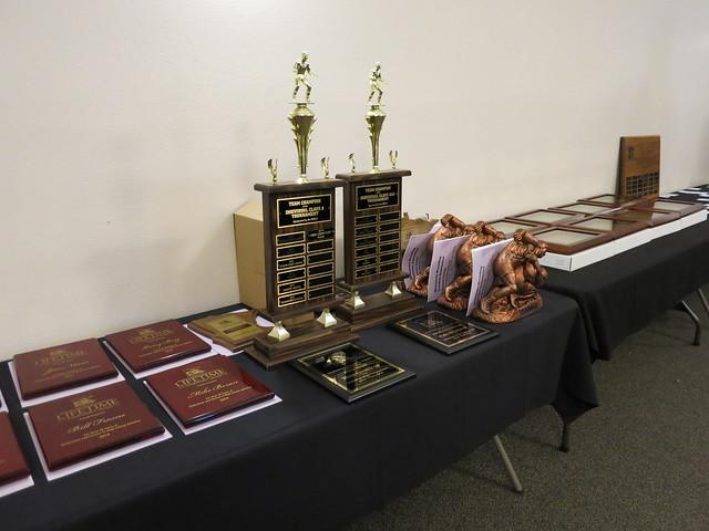 2019 Minnesota Wrestling Coaches Association Dave Bartelma Hall of Fame Banquet. 190504AJF0840