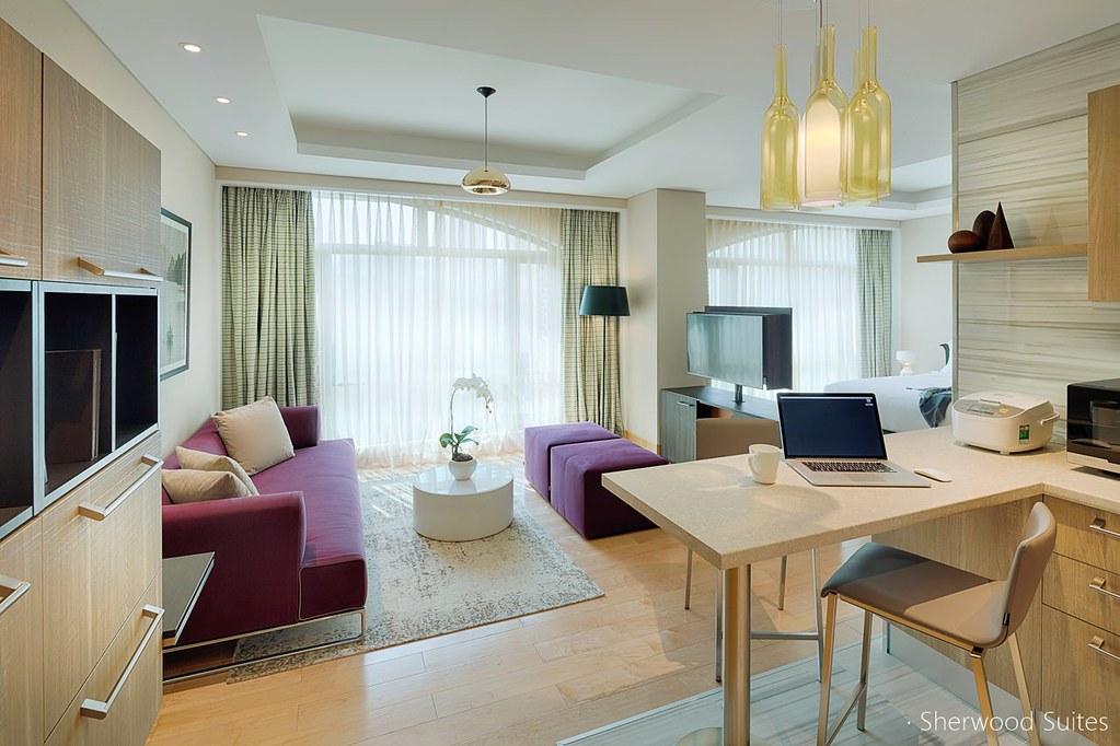 胡志明市舍伍德套房飯店 Sherwood Suites (1)