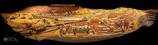 Maquetas Antiguo Pueblo de Riotinto.  12-06-19.