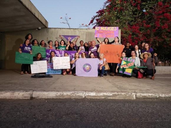 Tribunal popular de mulheres sobre a reforma da Previdência  - Créditos: AMB/Divulgação
