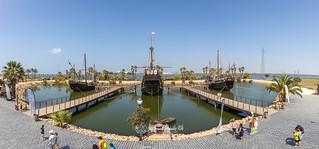 Muelle de las Carabelas 27-08-19