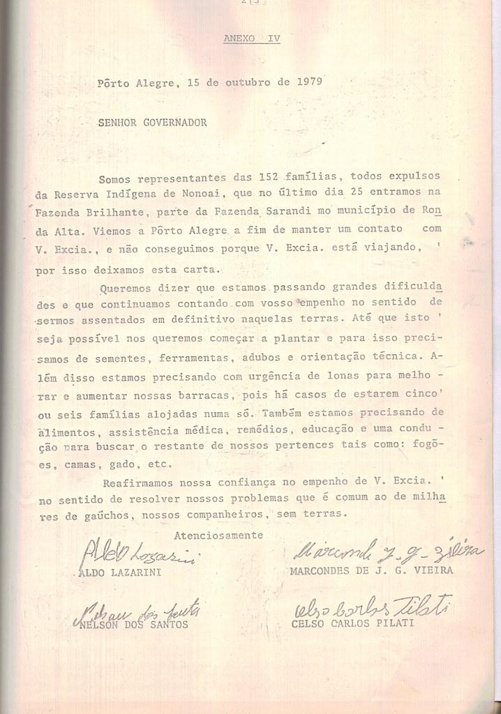 2 - Carta para o Governador de reinvidicação das glebas Macali e Brilhante. Disponibilizado por Ivaldo Geehlen.jpg