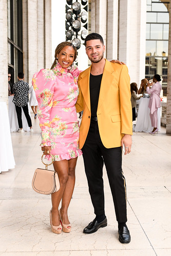Couture Council Member Dr. Shirley Madhere and Randy Morales