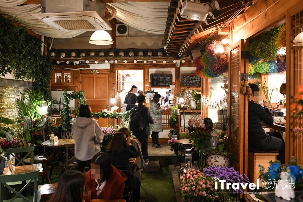 首爾庭院花房咖啡 Madang Flower Cafe (16)