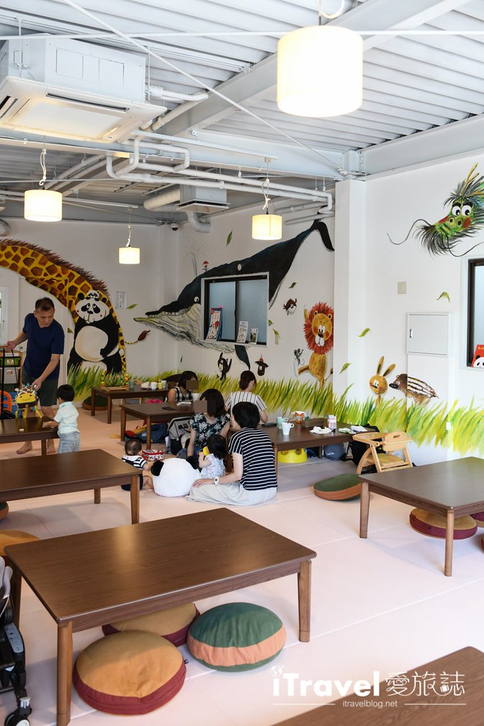 東京親子餐廳 パンダカフェPanda Cafe (47)