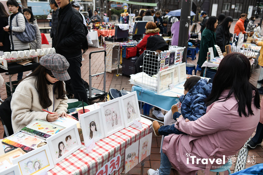 弘大自由市場 Hongdae Art Freemarket (17)
