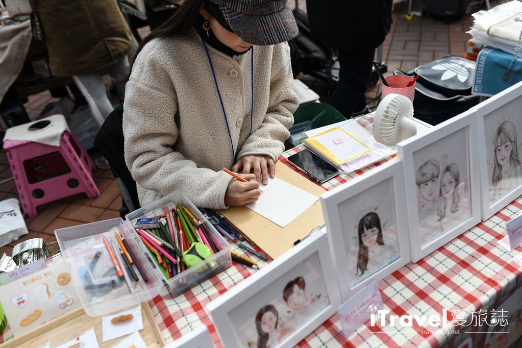 弘大自由市場 Hongdae Art Freemarket (6)