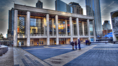 David H Koch Theatre at Lincoln Center in New York City