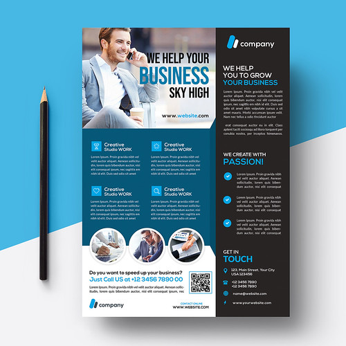 I will design World Class flyer brochure catalog within 12 hours