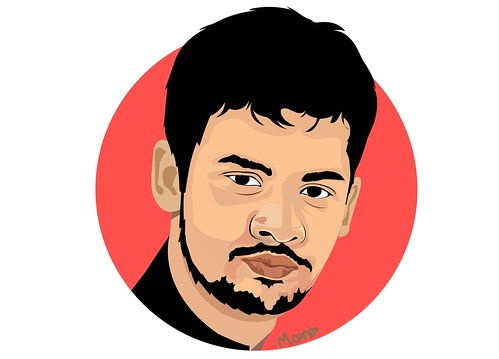 I will draw awesome cartoon portrait and vector cartoon portrait