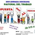 7.3.20 Jorn. diocesana de Pastoral del Trabajo