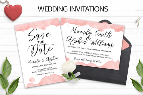 20+ Best Wedding Invitation Templates