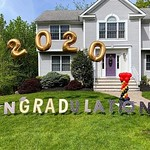 Graduation 2020 Sign + Balloons