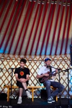 Chad VanGaalen under a Yurt