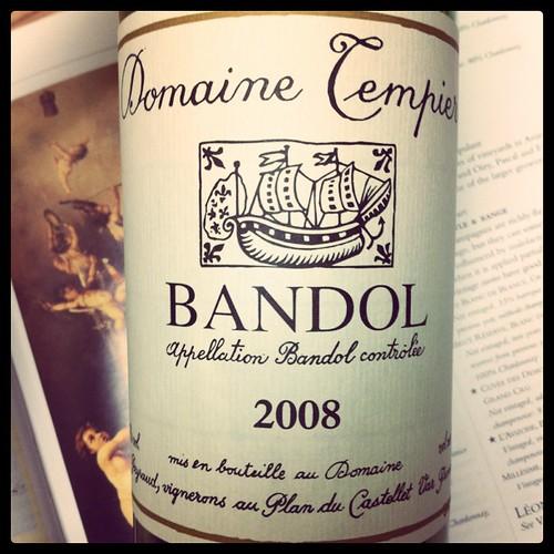 Bandol 2008 Domaine Tempier