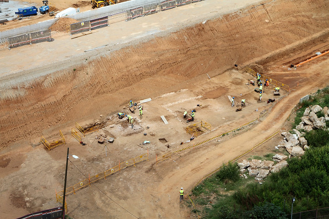 Campamento arqueológico junto al pont del Treball - 27-07-11