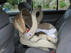 car seat installed!