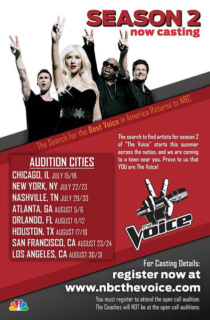 """""""The Voice"""" Orlando Auditions"""