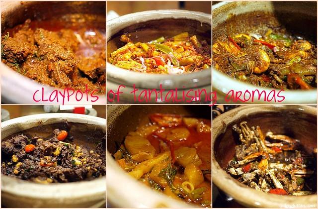 claypots collage