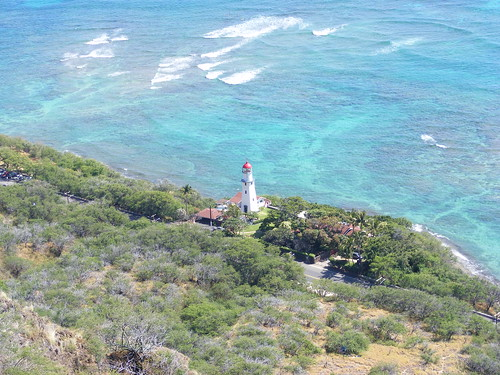 Picture from Diamond Head Crater, Hawaii