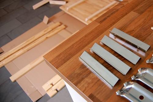 nieuwe keukentafel