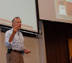 Tony Wagner speaks at the 2011 Positive Youth Development Conference.