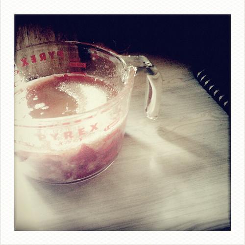 Strawberry jam ingredients