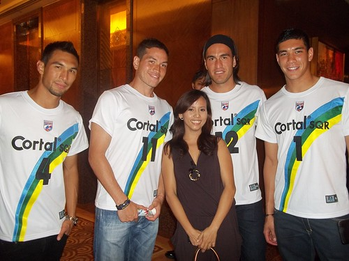 with the Phil Azkals