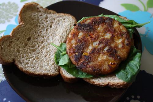 veggie masala burger