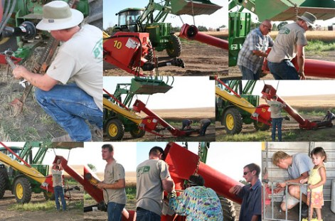 fixing the auger