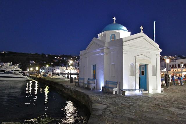 Église à Myconos