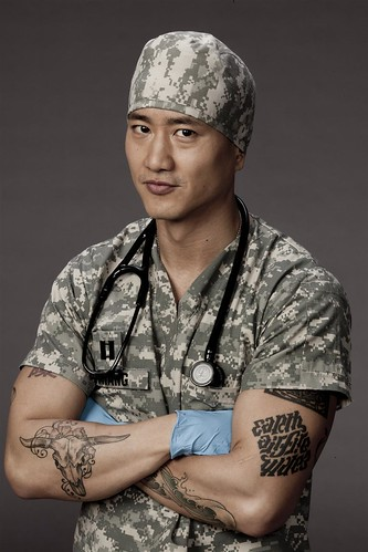 terry chen as 'bobby' on combat hospital