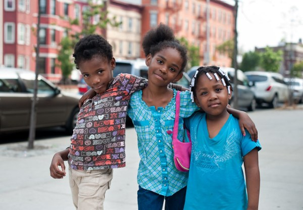 Three Friends: East New York Brooklyn