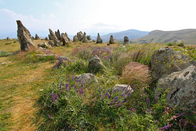 Le site de Karahunj, Arménie