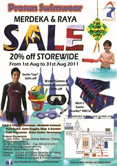 Prosun Swimwear Merdeka & Raya Sale 1 - 31 Aug 2011