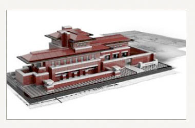 Frank Lloyd Wright's Robie House - LEGO Architecture