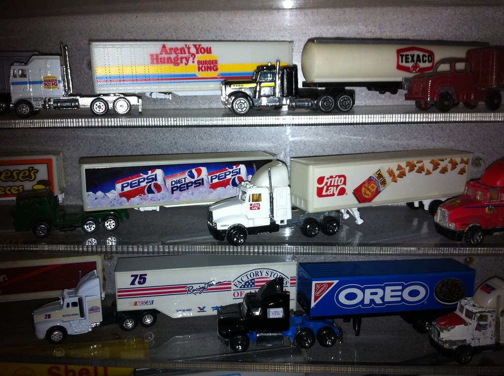 die cast trucks