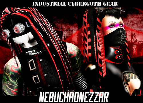 NebuchadNezzar - NDN - Industrial Cybergoth gear in Second Life