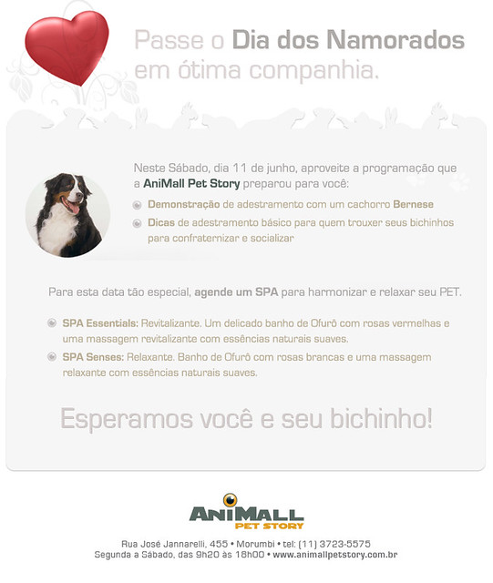 E-mail Marketing Dia dos Namorados