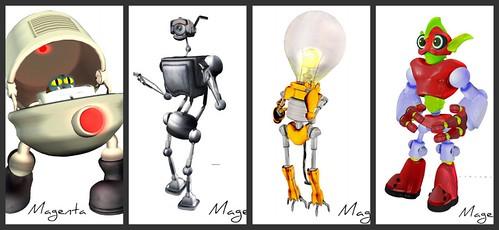 robot collage 3