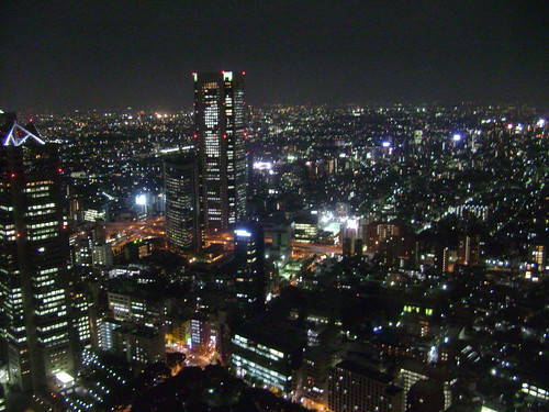 Night view from Tokyo Metro Government center