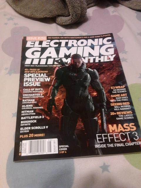 EGM Mass Effect 3 cover