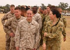 U.S. Marines, Australian Defence Force personn...